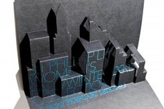NYCFashion Week Invite ..inspires me to think of pop us..with chalkboard type effect
