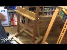 Cavalletti per pittura: da studio - YouTube
