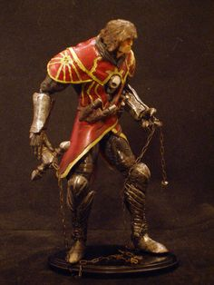 "Castlevania Lords of Shadow Gabriel Belmont 6"" figure."