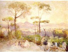 Giacinto Gigante - Il golfo di Napoli dall'Arenella (1845-48) - Napoli, Museo di…