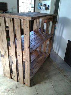 upcycled-pallet-shelving-unit-and-console-table.jpg (720×960)