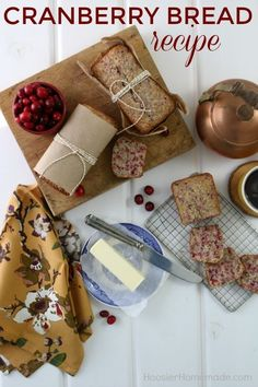CRANBERRY BREAD RECI