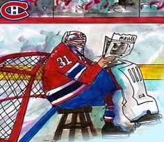 Habs Leafs Rivalry Montreal Canadiens, Funny Hockey, Toronto Maple Leafs, Nhl, Soccer, Football, Baseball Cards, Humor, Sports