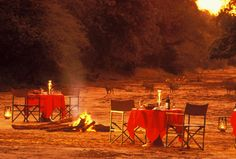 Sundowners in the river bed, magical. Game Reserve, Beautiful Places, River, Stone, Bed, Rock, Rivers, Rocks, Beds