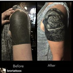 Best cover up tattoos, cover tattoo, black tattoo cover up, solid black tattoo Sky Tattoos, Tribal Tattoos, Black Tattoos, Body Art Tattoos, Stomach Tattoos, Belly Tattoos, Celtic Tattoos, White Over Black Tattoo, Black Tattoo Cover Up