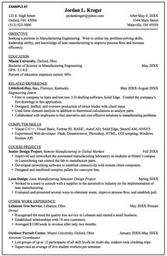 manufacturing engineering resume samples httpexampleresumecvorgmanufacturing engineering entry level engineering resume