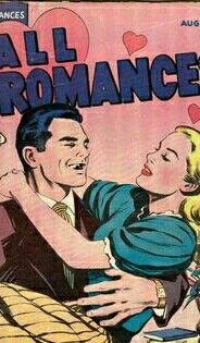 #love #romance #funny #pulpcomics #pulp #pulpfiction #comics #comicbooks #laugh #vintage #classic #art #hug #tie #teeth #book