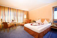 Zimmer im Steigenberger Hotel Remarque.