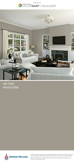 5 Determined Cool Ideas: Living Room Remodel On A Budget Before After small living room remodel projects.Livingroom Remodel Ideas living room remodel before and after wood paneling.Living Room Remodel With Fireplace Light Fixtures. Farmhouse Paint Colors, Paint Colors For Home, Neutral Paint Colors, Grey Paint, Home Renovation, Home Remodeling, Family Room Design, Living Room Remodel, Living Room Colors