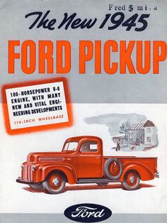 Carros y Clasicos - Ford Pickups Pub Vintage, Vintage Trucks, Pickups Ford, Bicicletas Raleigh, Classic Ford Trucks, Ford Pickup Trucks, Old Fords, Us Cars, Ford Motor Company