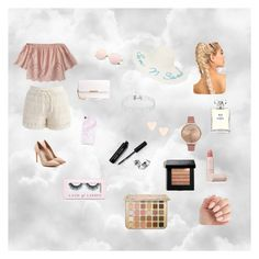 """""""Dressy summer outfit"""" by misafashion ❤ liked on Polyvore featuring Abercrombie & Fitch, Chicwish, Alexander McQueen, New Directions, Ted Baker, Olivia Burton, Chanel, Lipstick Queen, Bobbi Brown Cosmetics and Boohoo"""