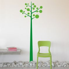 This Giant bubble tree wall decal can add style and decoration to any home or office. It comes in a variety of colors so you can match it to any décor theme.$59.95
