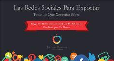 Redes Sociales para Exportar. Todo lo que Necesitas Saber [Infografía] #LGMblog #redessociales #exportar