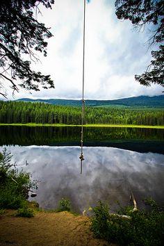 Rope Swing - Golden,BC