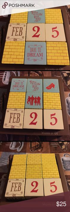 The New Perpetual calendar, great gift idea, home other - how to make a perpetual calendar