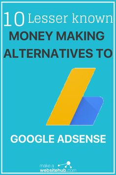 Looking for Google Adsense alternatives? Here is a list of the lesser known money making advertising networks pro-bloggers swear by. Access the list here. #adsensealternatives #googleadsensealternatives #googleadverstisingalternatives #makeawebsitehub