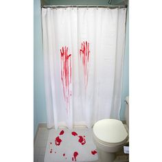 When I do my big giant Halloween party in the future, I'm going to decorate the guest bathroom with this.