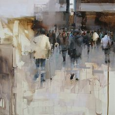 On the Street  by Tibor Nagy