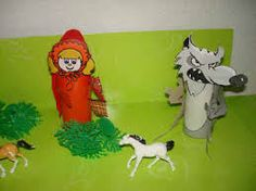 Image result for little red riding hood crafts