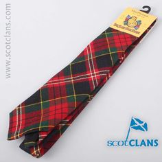 MacPherson Modern Tartan Tie. Free worldwide shipping available