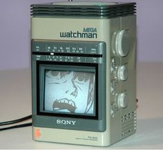 I Have Seen The Whole Of The Internet: Sony Mega Watchman