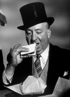 Alfred Hitchcock - another great mind for terror & suspense.