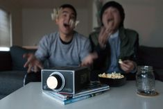 This cardboard smartphone projector ($27) can create pure outdoor movie theater magic. | 17 Ways To Live Your Best Life This Summer