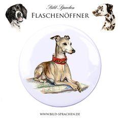 Italian+Greyhound Bottle Opener DaWanda.com