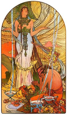 """Salambo"" Alphonse Mucha 1896"