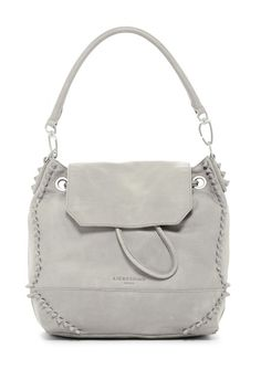 44c21d5f38f3 Image of Liebeskind Berlin Leather Knots Convertible Satchel