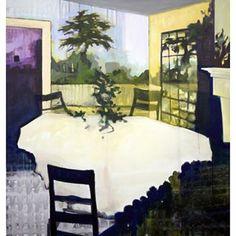 Three Chairs #elizabethmcdonald #oiloncanvas #painting
