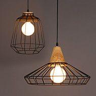 Contemporain+/+Traditionnel/Classique+/+Rustique+/+Vintage+LED+Métal+Lampe+suspendueSalle+de+séjour+/+Chambre+à+coucher+/+Salle+à+manger+–+EUR+€+56.83