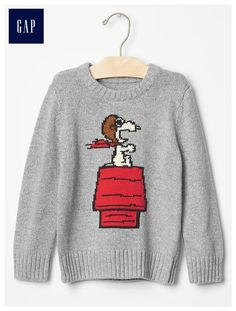 db49c9e27d babyGap + Peanuts® intarsia graphic sweater - The gangs all here! Catch the  limited