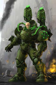 Lex Luthor comics   Lex Luthor from DC Universe Online by Chuk Wojtkiewicz