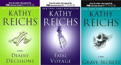 Temperance Brennan Series - If you're a murder mystery junkie like me looking for some quick travel reads, I highly recommend the Temperance Brennan series by forensic anthropologist Kathy Reichs, whose life and novels inspired the TV show Bones.""