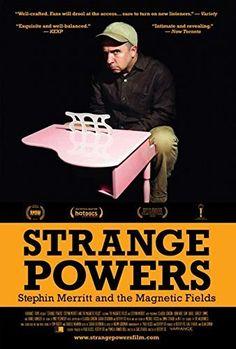 Strange Powers: Stephin Merritt and the Magnetic Fields Movie Poster (27.94 x 43.18 cm)