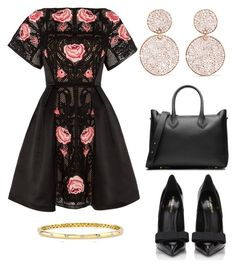 """Untitled #26182"" by edasn12 ❤ liked on Polyvore featuring Temperley London, Ippolita, Michael Kors, Yves Saint Laurent and Anne Sisteron"