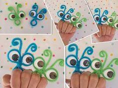ANILLOS LOCOS IDEALES PARA LOS NIÑOS .- PIPE CLEANER CRAZY RINGS. - YouTube