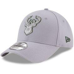 Milwaukee Bucks New Era 9FORTY Adjustable Hat - Gray -  22.99 New Era  9forty a2463c35b26d