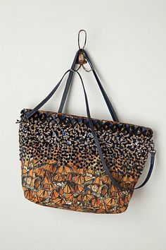 Fluttered Monarch Tote  #anthropologie