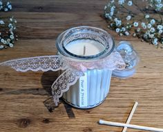 Scented Candle, Strong scented candles Strong Scented Candles, Diy Candles Scented, Beeswax Candles, Expensive Candles, Natural Candles, New Home Gifts, Candle Making, It's Easy, Essential Oils