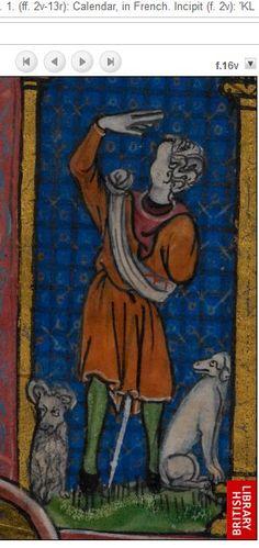 1320 Maastrichter Stundenbuch f16v