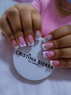 Manicure Ideas, Nail Tips, Precious Nails, French Tip Nails, Short Nails, Manicures, Finger Nails, Templates, Frases
