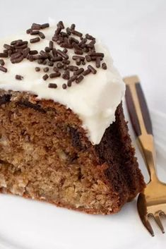 This is the MOISTEST Banana Cake you will ever taste! Filled with shredded coconut and chocolate chunks then topped with a delicious cream cheese frosting. It's a cake lovers dream and it's made with a surprise ingredient to ensure that it will be a soft and fluffy cake.