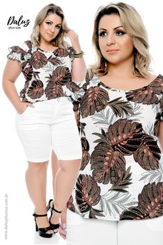 Plus Size Chic, Looks Plus Size, Plus Size Model, Plus Size Summer Fashion, Plus Size Fashion For Women, Girl With Curves, Curvy Fashion, Dress Patterns, Stylish Outfits