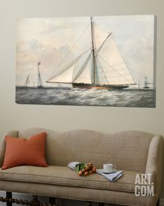 Cutter Yacht - 1854 Loft Art at Art.com