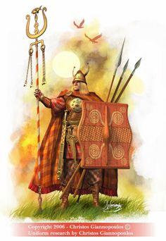 Ancient Ireland Warriors | celtic warrior