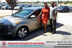 #HappyAnniversary to Kurtwyn  Baird on your 2013 #Hyundai #Elantra from Elijah Riess at Absolute Hyundai!