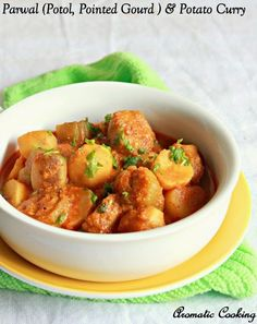 : Parwal ( Potol, Pointed Gourd ) And Potato Curry
