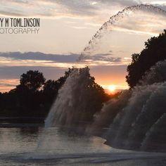 Sunset Spray by Judy M Tomlinson Photography #londonontariophotographer #viewbugfeature #sunset#londonontario #printsforsale http://www.judymtomlinsonphotography.ca/